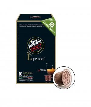 CAFFE VERGNANO - Espresso Arabica Capsule 5MLX10Caps