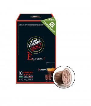 CAFFE VERGNANO - Espresso Cremoso Capsule 5MLX10Caps