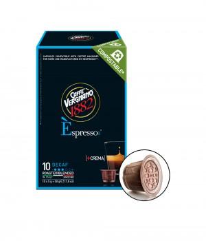 CAFFE VERGNANO - Espresso Decaf Capsule 5MLX10Caps