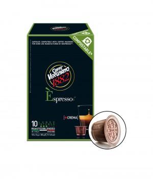 CAFFE VERGNANO - Espresso Lungo Capsule 5MLX10Caps