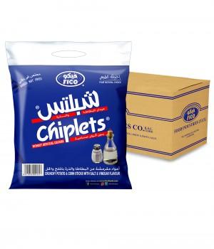 CHIPLETS SALT &VINEGAR; 18GmX100Pcs