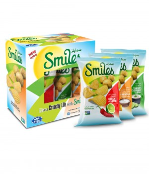 SMILES ASSORTED 170GmX3Pcs