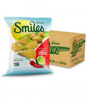 SMILES - CHILLI & LIME 27GmX40Pcs
